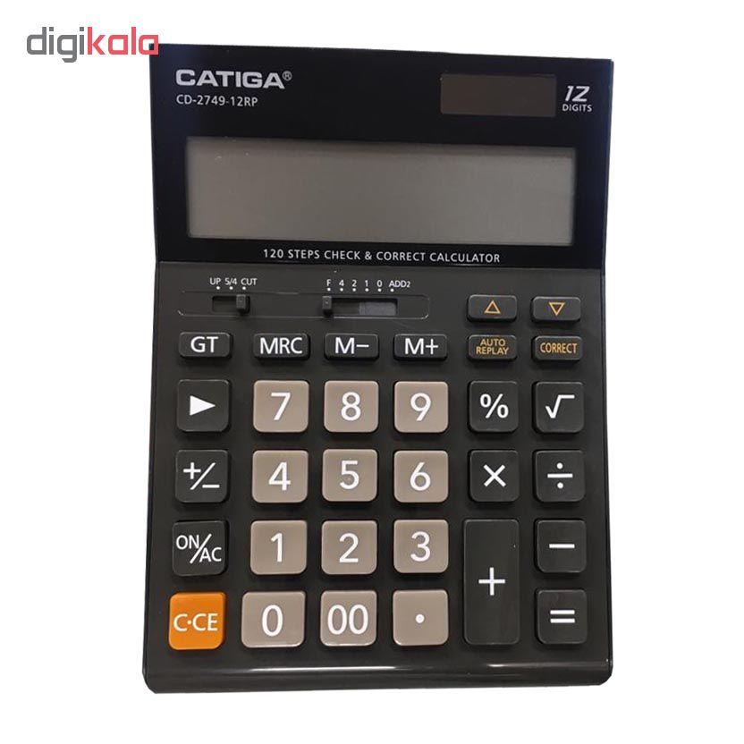 قیمت                      ماشین حساب کاتیگا مدل CD-2749-12Rp