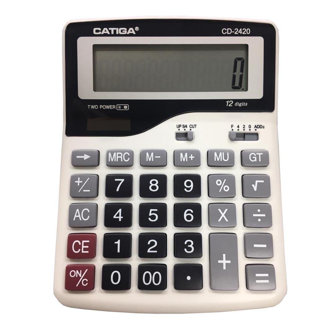 قیمت                      ماشین حساب کاتیگا مدل CD-2420