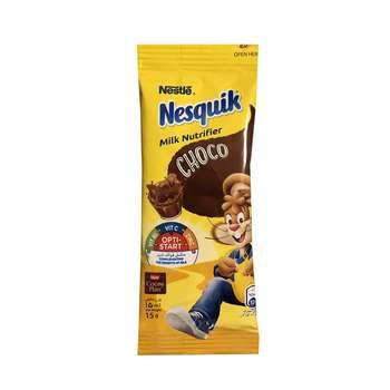 پودر شکلات نسکوئیک نستله مدل Milk Nutrifier بسته 3 عددی