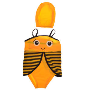 مایو دخترانه طرح زنبور کد 88