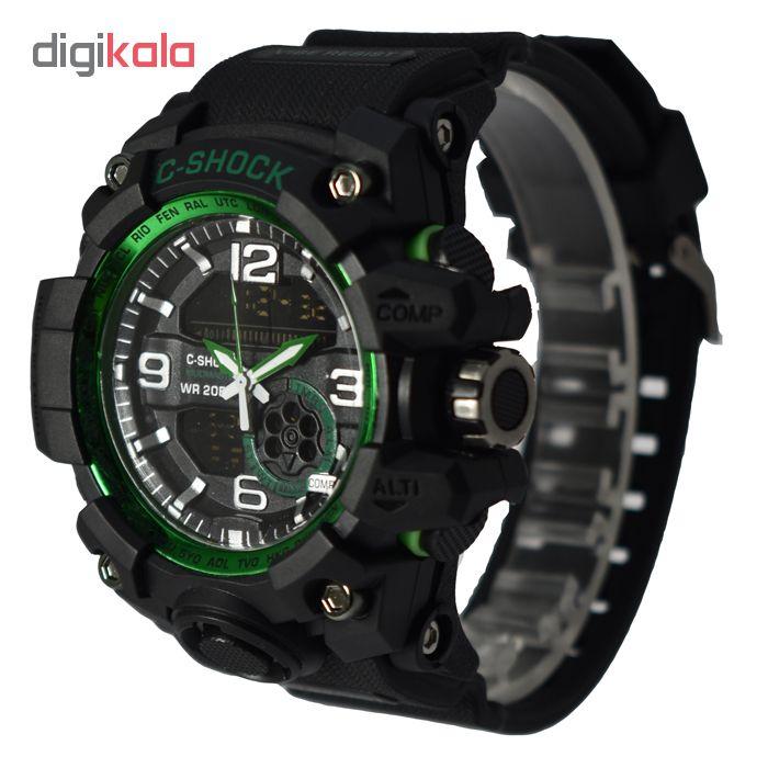 ساعت مچی دیجیتال مردانه سی شاک مدل G-SH 3388 - ME-SB