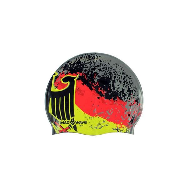 کلاه شنا مد ویو طرح پرچم آلمان کد 1580
