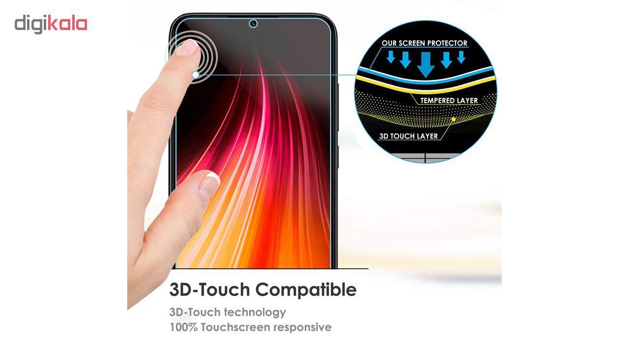 محافظ صفحه نمایش لاین مدل  RB007 مناسب برای گوشی موبایل شیائومی Redmi Note 8 main 1 14