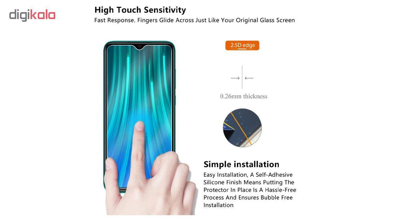 محافظ صفحه نمایش لاین مدل  RB007 مناسب برای گوشی موبایل شیائومی Redmi Note 8 Pro main 1 13