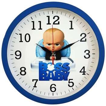 ساعت دیواری کودک  کد Boss310-BL