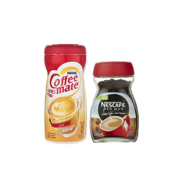 کافی میت نستله کد170 مقدار 170 گرم بهمراه قهوه فوری نسکافه کد50 مقدار 50 گرم