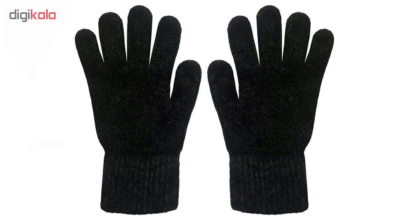 دستکش بافتنی زنانه کد 99995