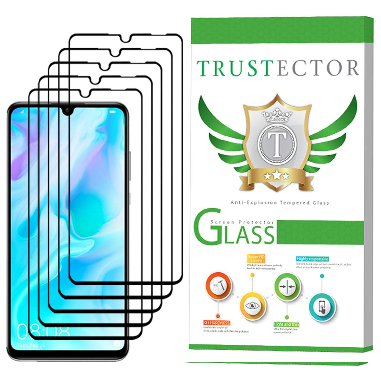 محافظ صفحه نمایش تراستکتور مدل GSS مناسب برای گوشی موبایل هوآوی P30 lite بسته 5 عددی