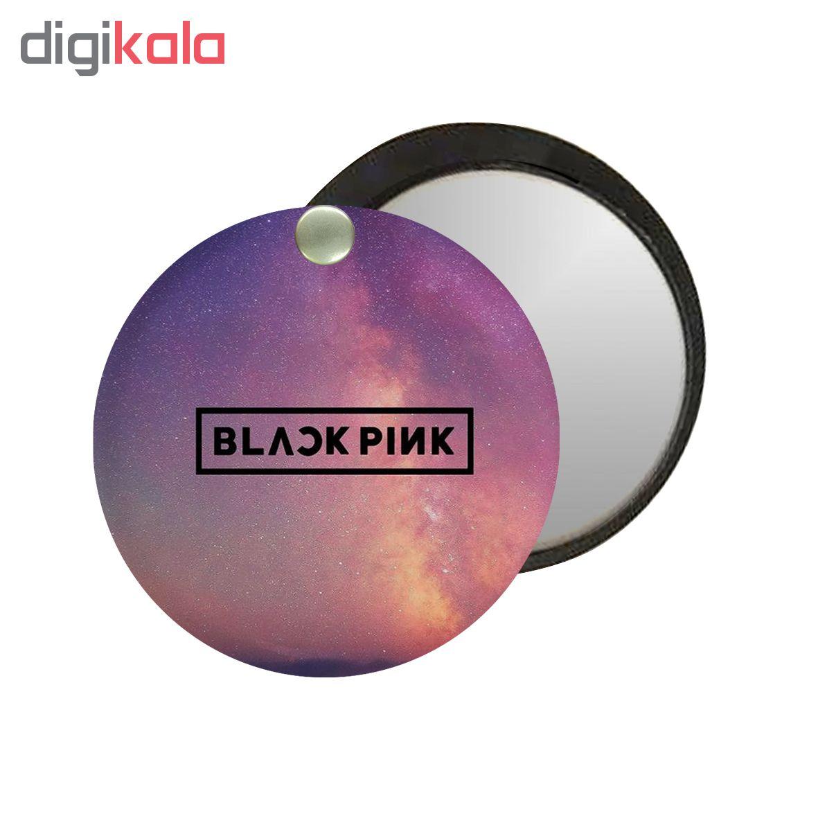 آینه جیبی طرح Black pink کد ai68