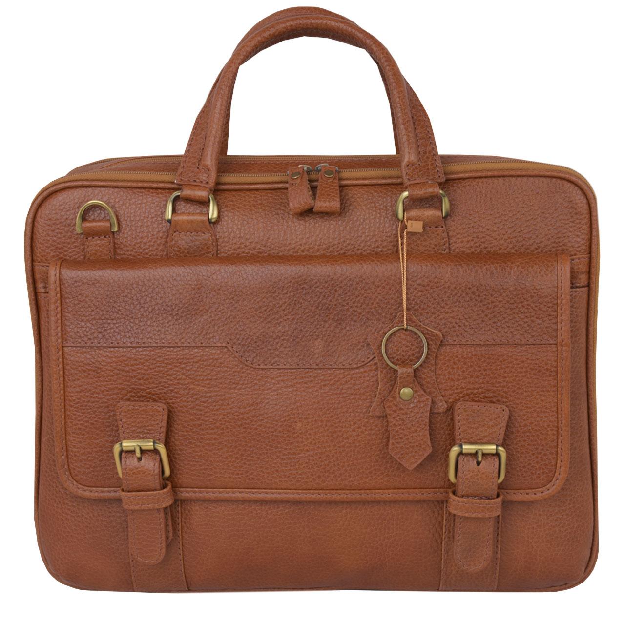 کیف اداری مردانه کهن چرم مدل L141-1