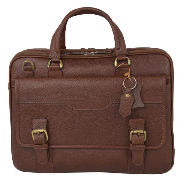 کیف اداری مردانه کهن چرم مدل L141-7