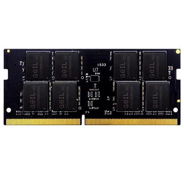 رم لپ تاپ DDR4  تک کاناله  2666 مگاهرتز  CL19  گیل مدل GS44GB2666C19SC ظرفیت 4 گیگابایت