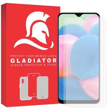 محافظ صفحه نمایش گلادیاتور مدل GLS2000 مناسب برای گوشی موبایل سامسونگ Galaxy A30s بسته دو عددی
