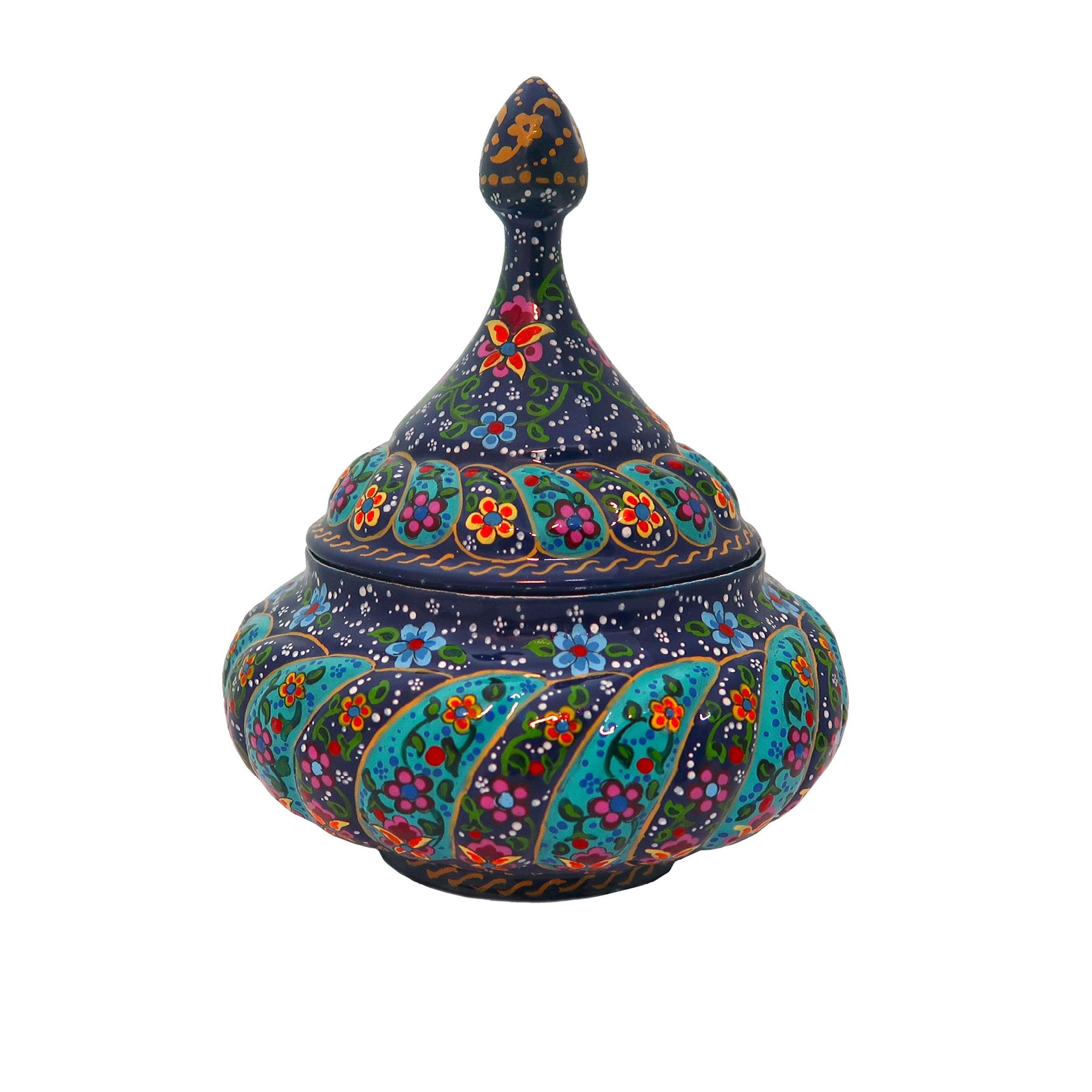 شکلات خوری میناکاری محسن حیدری مدل ISF-SK-T1