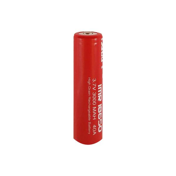 باتری لیتیوم-یون قابل شارژ ای دبلیو تی کد IMR-18650 ظرفیت 3000 میلی آمپرساعت