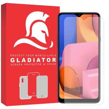 محافظ صفحه نمایش گلادیاتور مدل GLS1000 مناسب برای گوشی موبایل سامسونگ Galaxy A20s