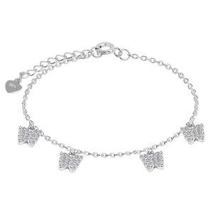 دستبند نقره زنانه اقلیمه کد DN455