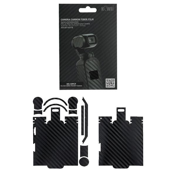 برچسب پوششی کی وی مدل KS-OPCF مناسب برای دوربین DJI OSMO POCKET