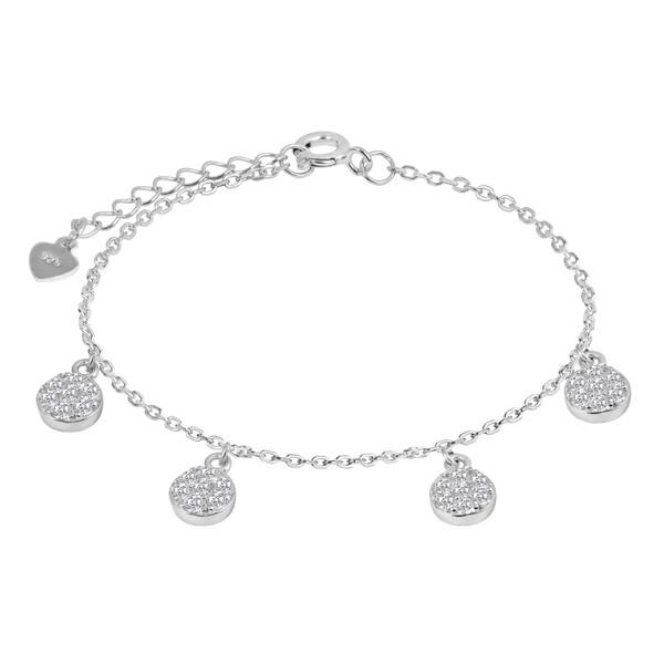 دستبند نقره زنانه اقلیمه کد DN458