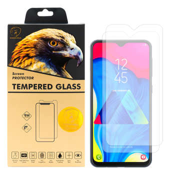 محافظ صفحه نمایش گلدن ایگل مدل GLC-X2 مناسب برای گوشی موبایل سامسونگ Galaxy M10 بسته دو عددی