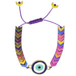 دستبند زنانه طرح چشم نظر کد A01 thumb