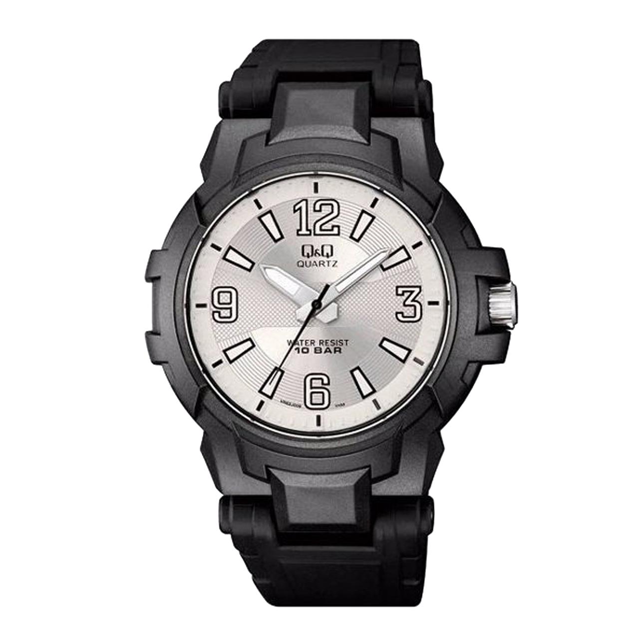 ساعت مچی عقربه ای مردانه کیو اند کیو کد vr62j009y              خرید (⭐️⭐️⭐️)
