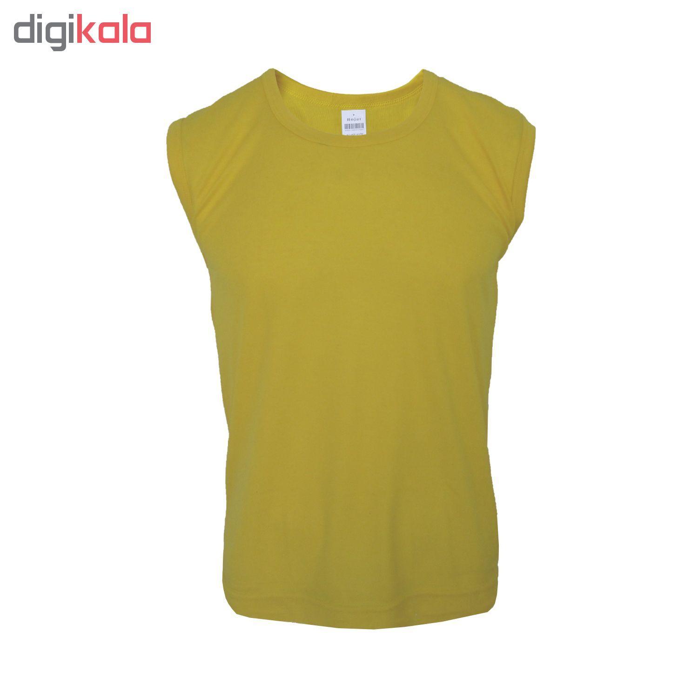 زیرپوش مردانه حجت کد LOP-20724 رنگ زرد
