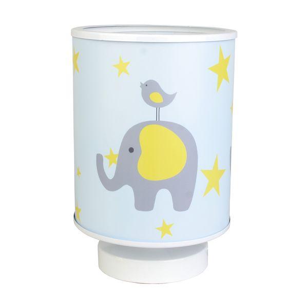 چراغ خواب کودک طرح فیل و گنجشک کد54