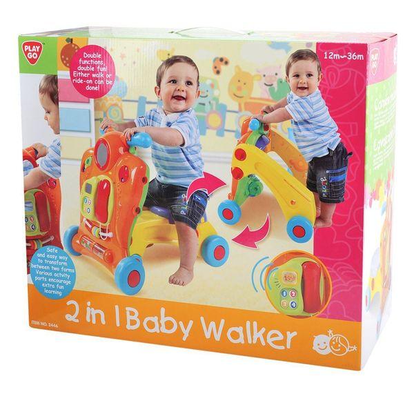 واکر پلیگو مدل 2in I Baby Walker 2446 Baby