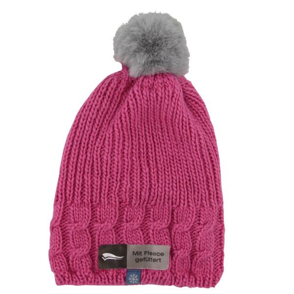 کلاه بافتنی دخترانه کرویت کد 2511
