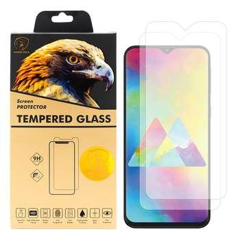 محافظ صفحه نمایش گلدن ایگل مدل GLC-X2 مناسب برای گوشی موبایل سامسونگ Galaxy M20 بسته دو عددی