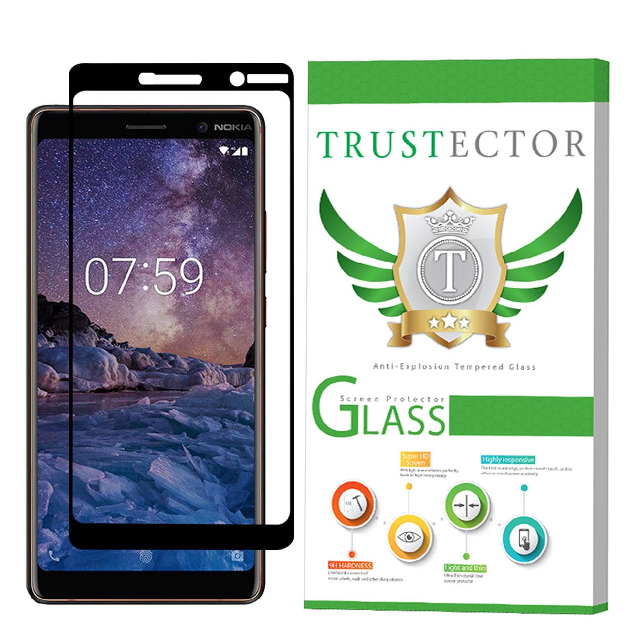 محافظ صفحه نمایش تراستکتور مدل GSS مناسب برای گوشی موبایل نوکیا 7 Plus              ( قیمت و خرید)