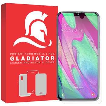 محافظ صفحه نمایش گلادیاتور مدل GLS1000 مناسب برای گوشی موبایل سامسونگ Galaxy A40