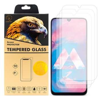 محافظ صفحه نمایش گلدن ایگل مدل GLC-X3 مناسب برای گوشی موبایل سامسونگ Galaxy M30 بسته سه عددی