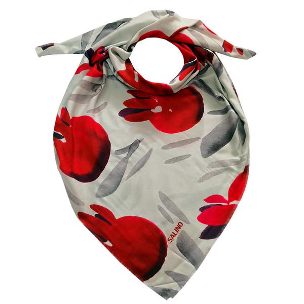 روسری زنانه سالینو مدل انار کد SAL01