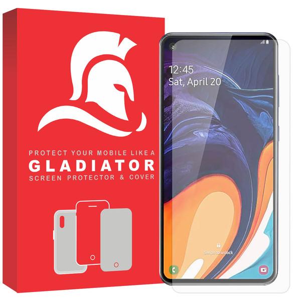 محافظ صفحه نمایش گلادیاتور مدل GLS1000 مناسب برای گوشی موبایل سامسونگ Galaxy A60