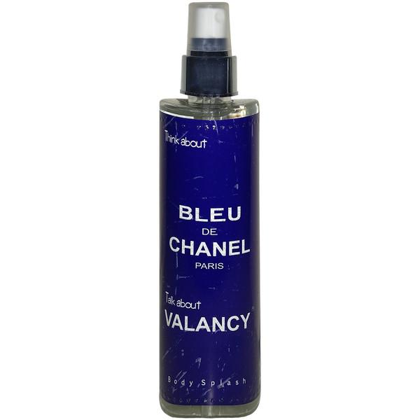 بادی اسپلش مردانه والانسی مدل Bleu De Chanel حجم 200 میلی لیتر