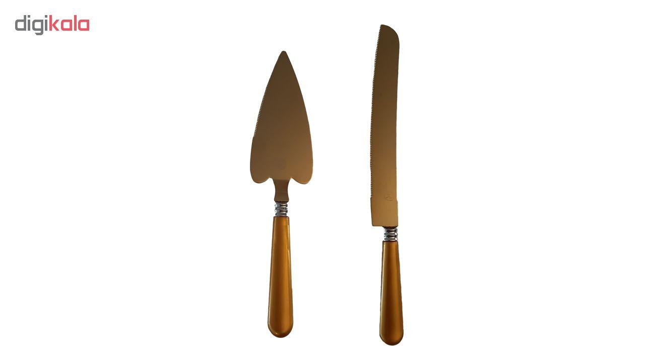 کفگیر و چاقو کیک روک کد KC22