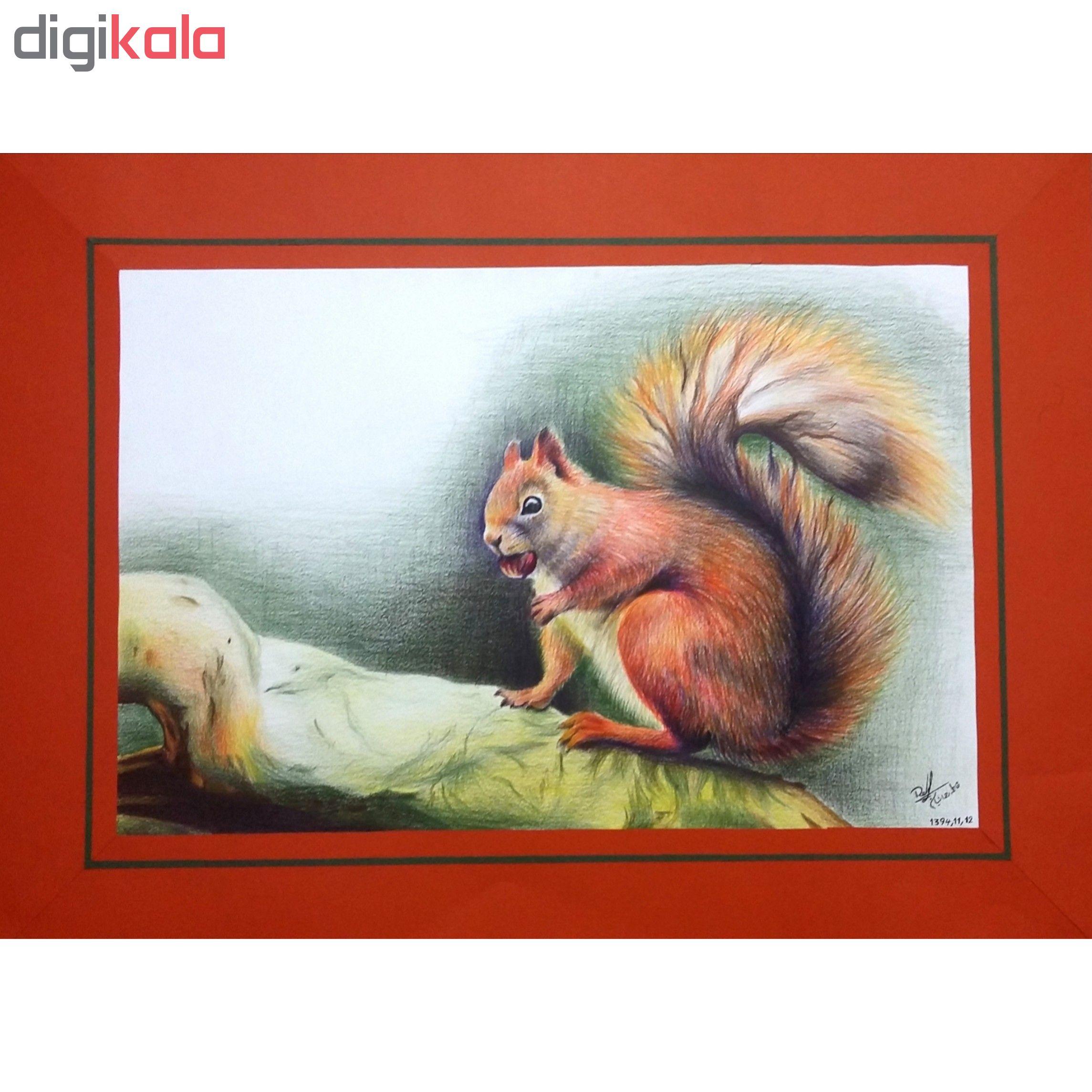 خرید                      تابلو نقاشی مداد رنگی کد fr105