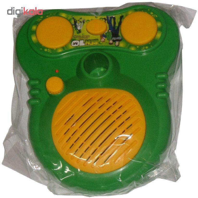 میکروفون اسباب بازی مدل بن تن کد 812 main 1 3