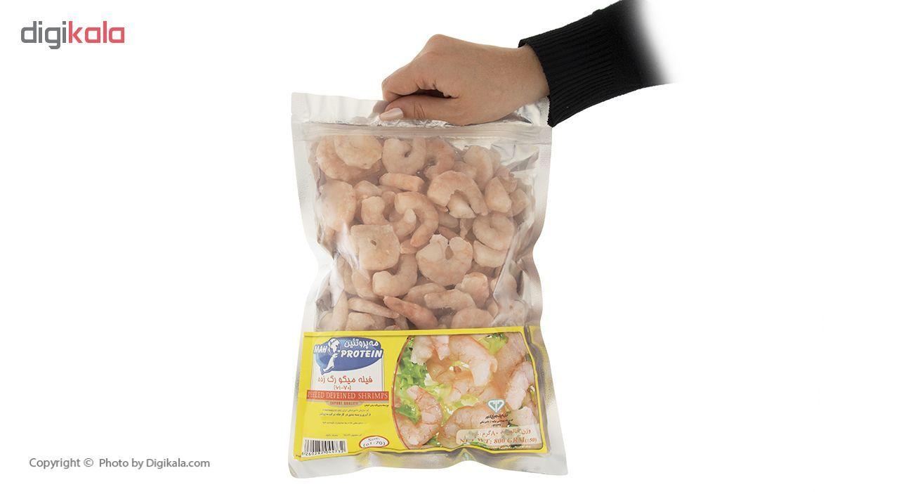 فیله میگو رگ زده سایز 70-61 مه پروتئین مقدار 800 گرم main 1 3