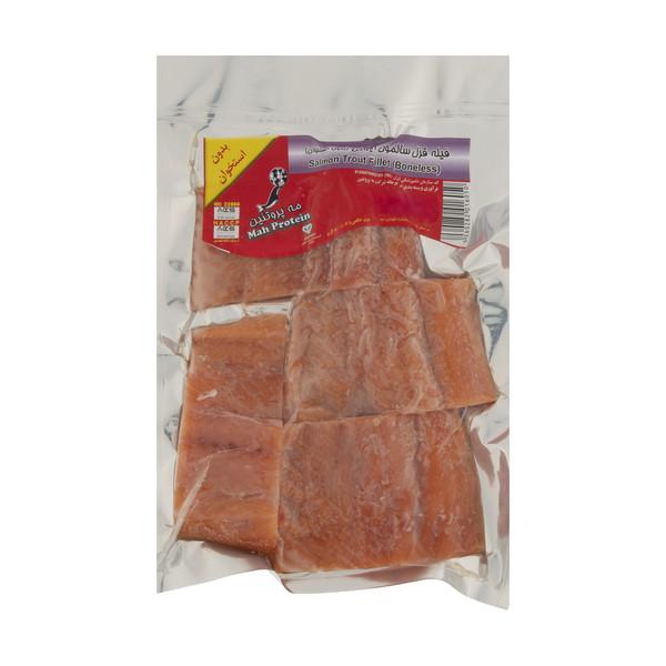 فیله قزل آلا سالمون بدون استخوان مه پروتئین مقدار 500 گرم