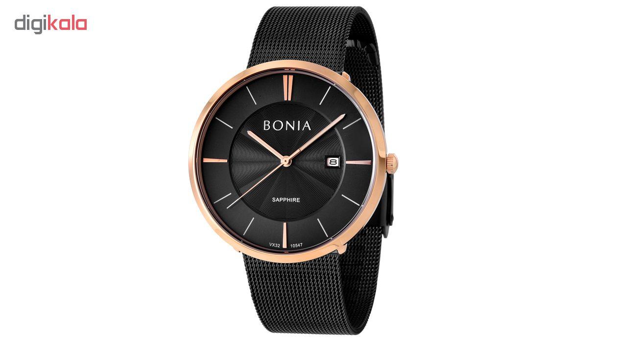کد تخفیف                                      ساعت مچی عقربه ای مردانه بونیا کد BNB10547-1532