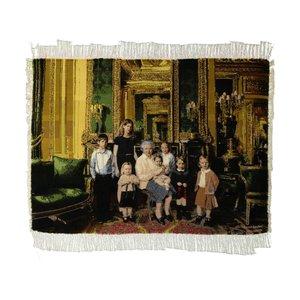 تابلو فرش دستبافت طرح ملکه الیزابت