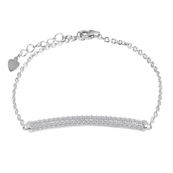 دستبند نقره زنانه اقلیمه کد DN448