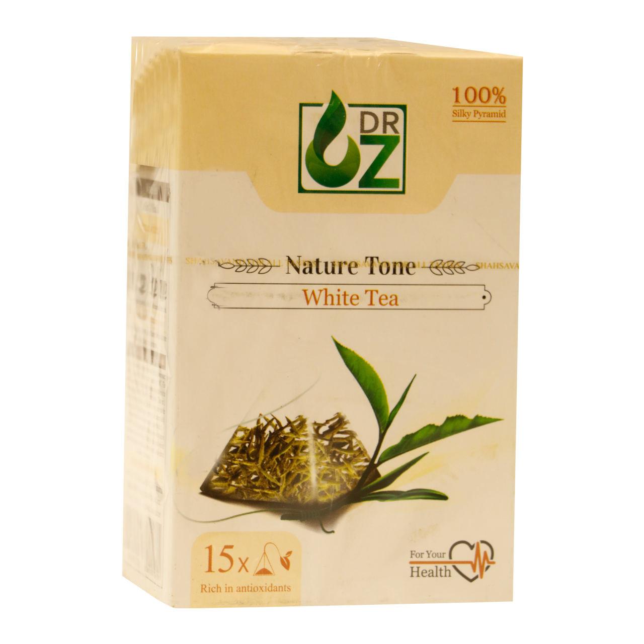 چای سفید دکتر آز بسته 15 عددی