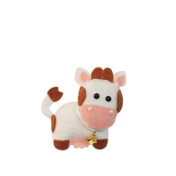 عروسک طرح گاو ارتفاع 10 سانتی متر