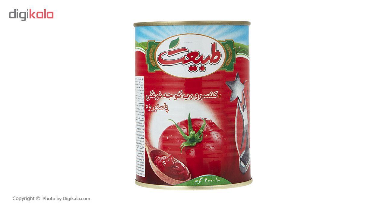 کنسرو رب گوجه فرنگی طبیعت مقدار 400 گرم main 1 1