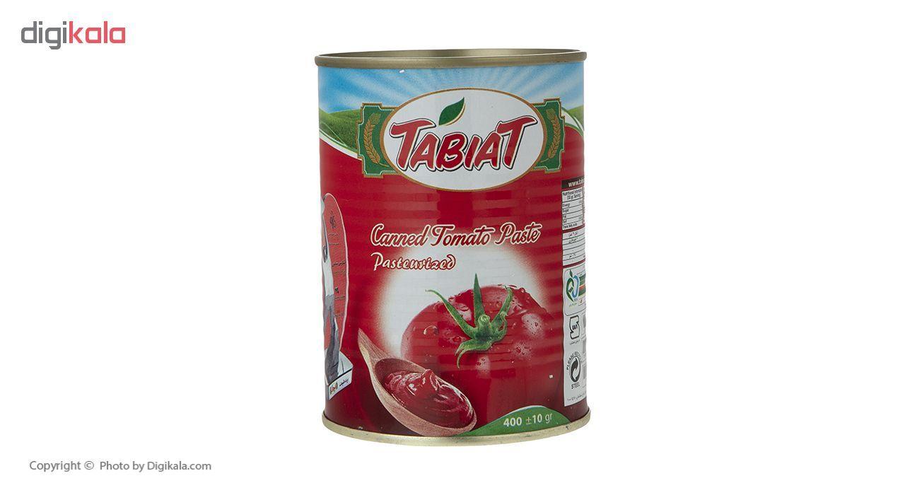 کنسرو رب گوجه فرنگی طبیعت مقدار 400 گرم main 1 2