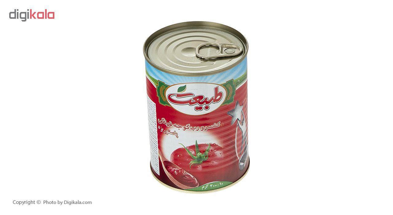 کنسرو رب گوجه فرنگی طبیعت مقدار 400 گرم main 1 3
